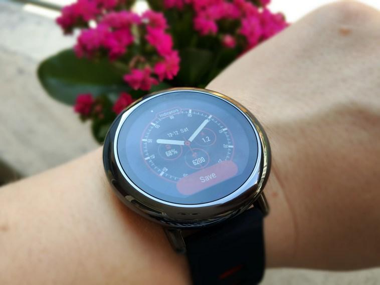 Xiaomi Amazfit Smartwatch diseño