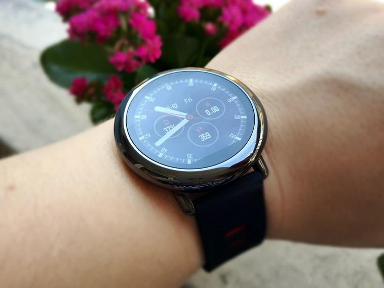 Xiaomi Amazfit Smartwatch pantalla