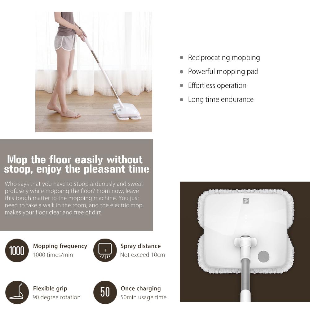 Xiaomi Handheld Electric Mop diseño
