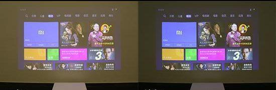 Xiaomi Mi Laser Projector lúmenes