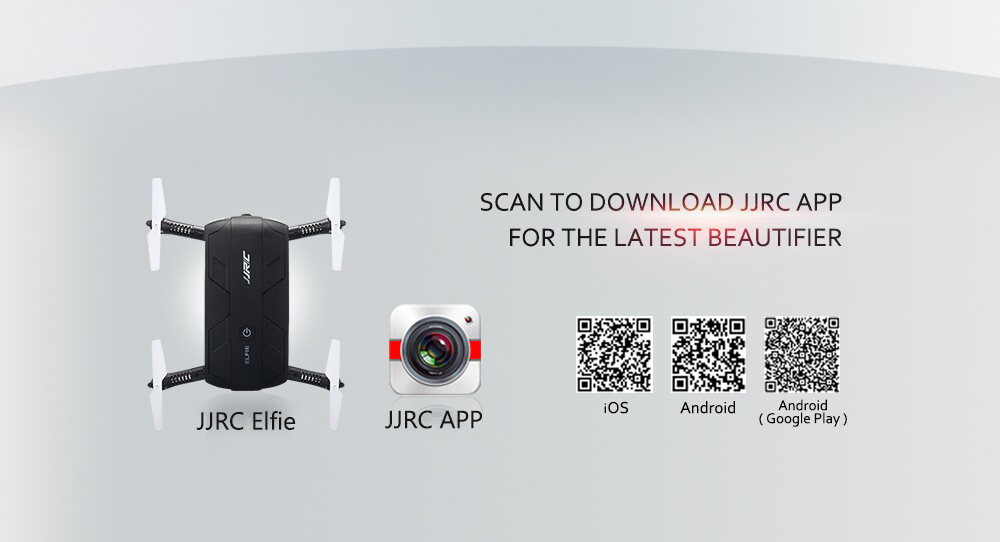 Drone H37 ELFIE Aplicación 2