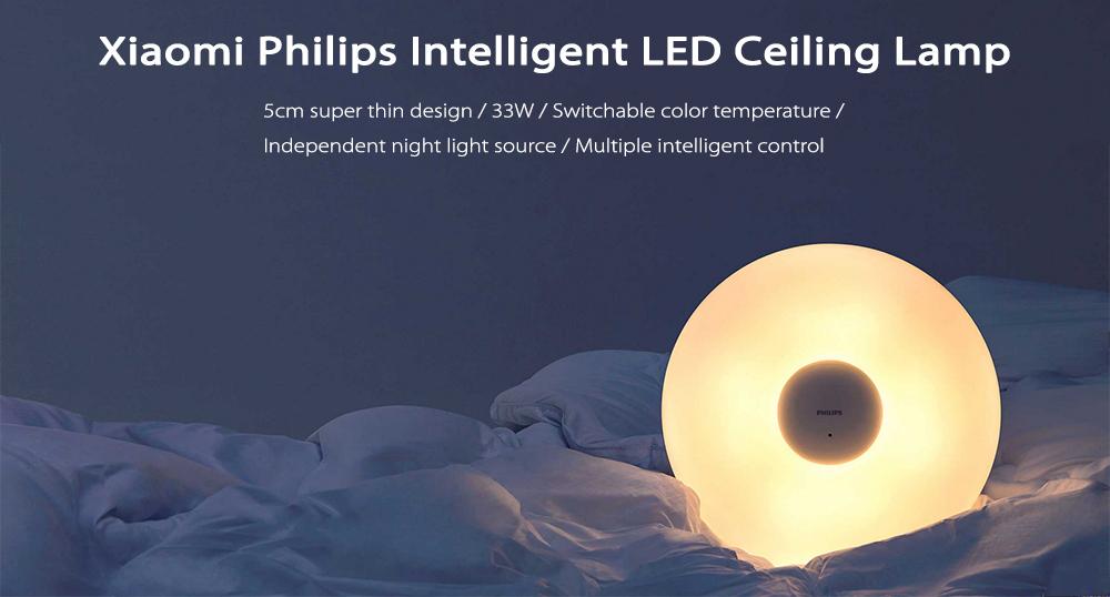 Xiaomi Phillips lámpara - Gearbest CES 2018
