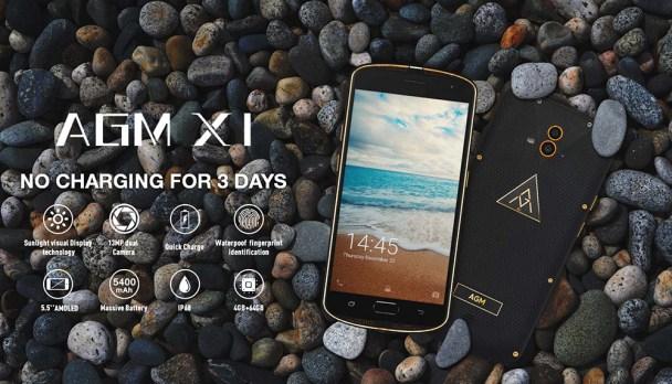 Smartphones AGM X1