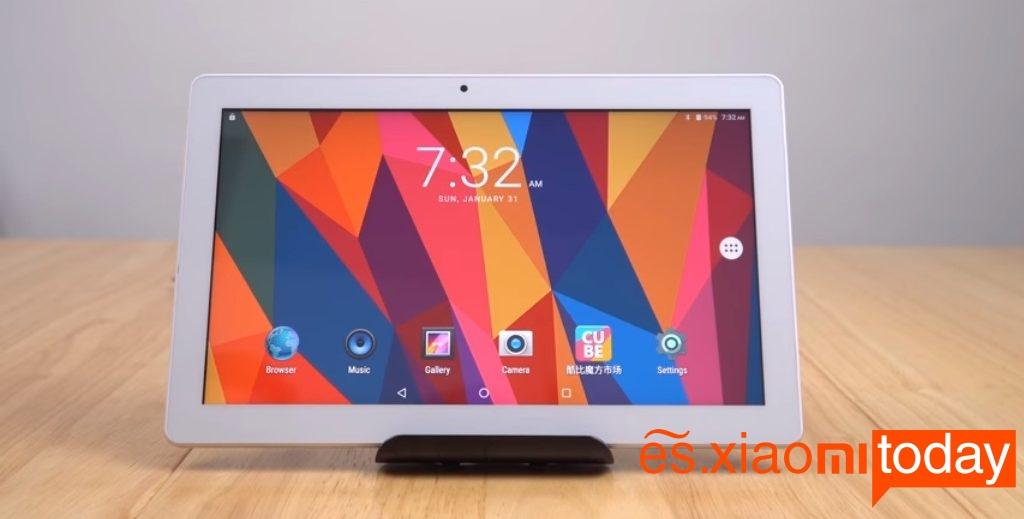 Cube iPlay 10 pantalla