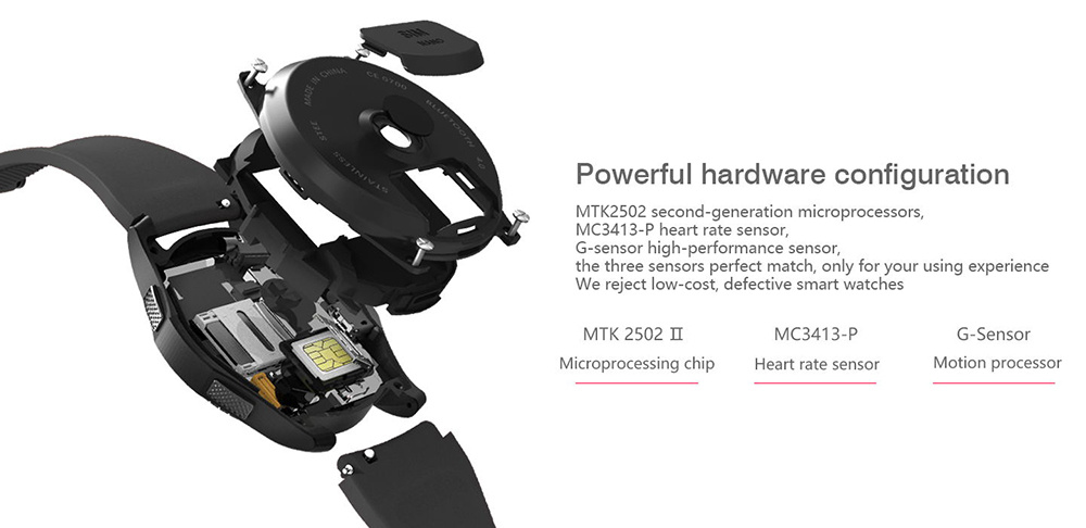 DTNO.1 G8 hardware