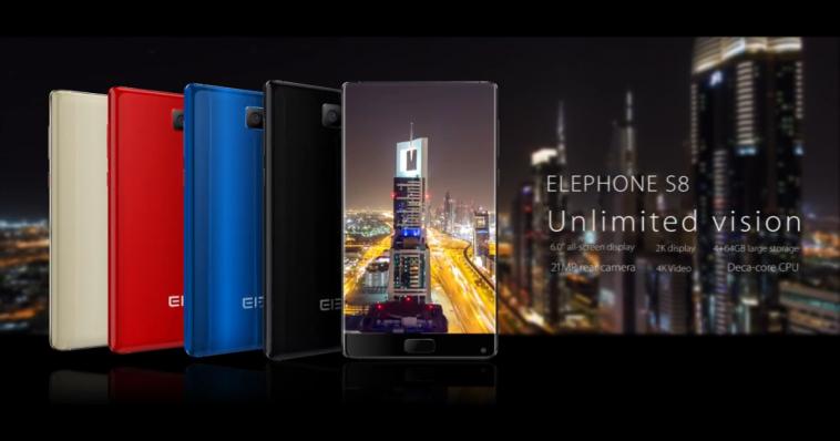 Elephone S8 introducción