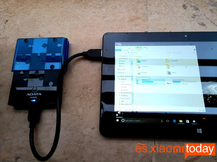 Jumper Ezpad 4S Pro transferencia