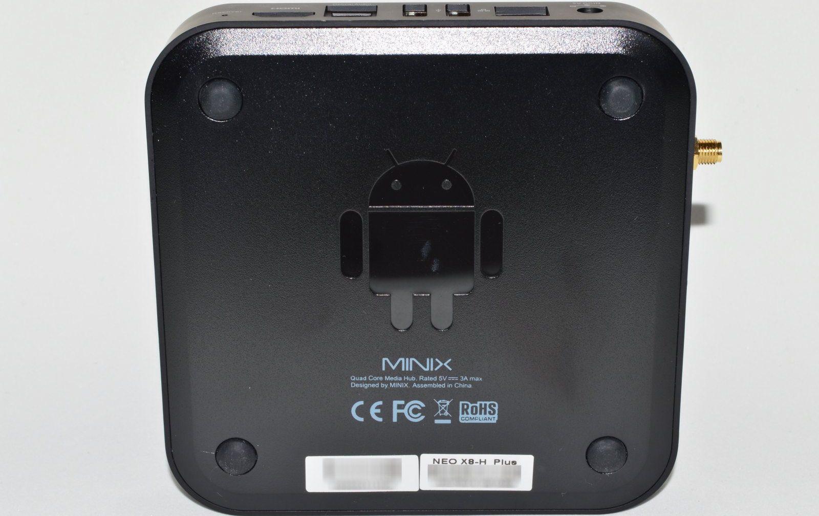 Minix Neo X8-H Plus Diseño