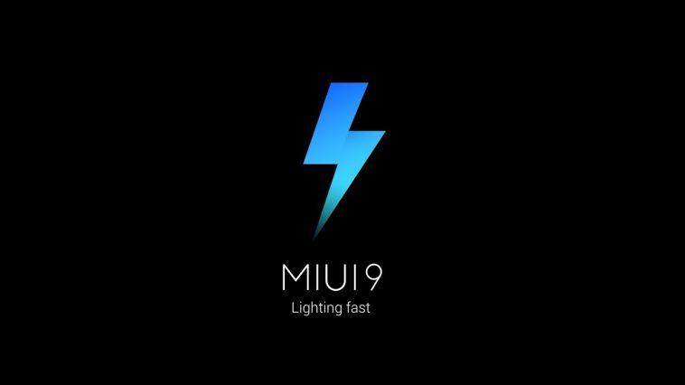 MIUI 9 actualización