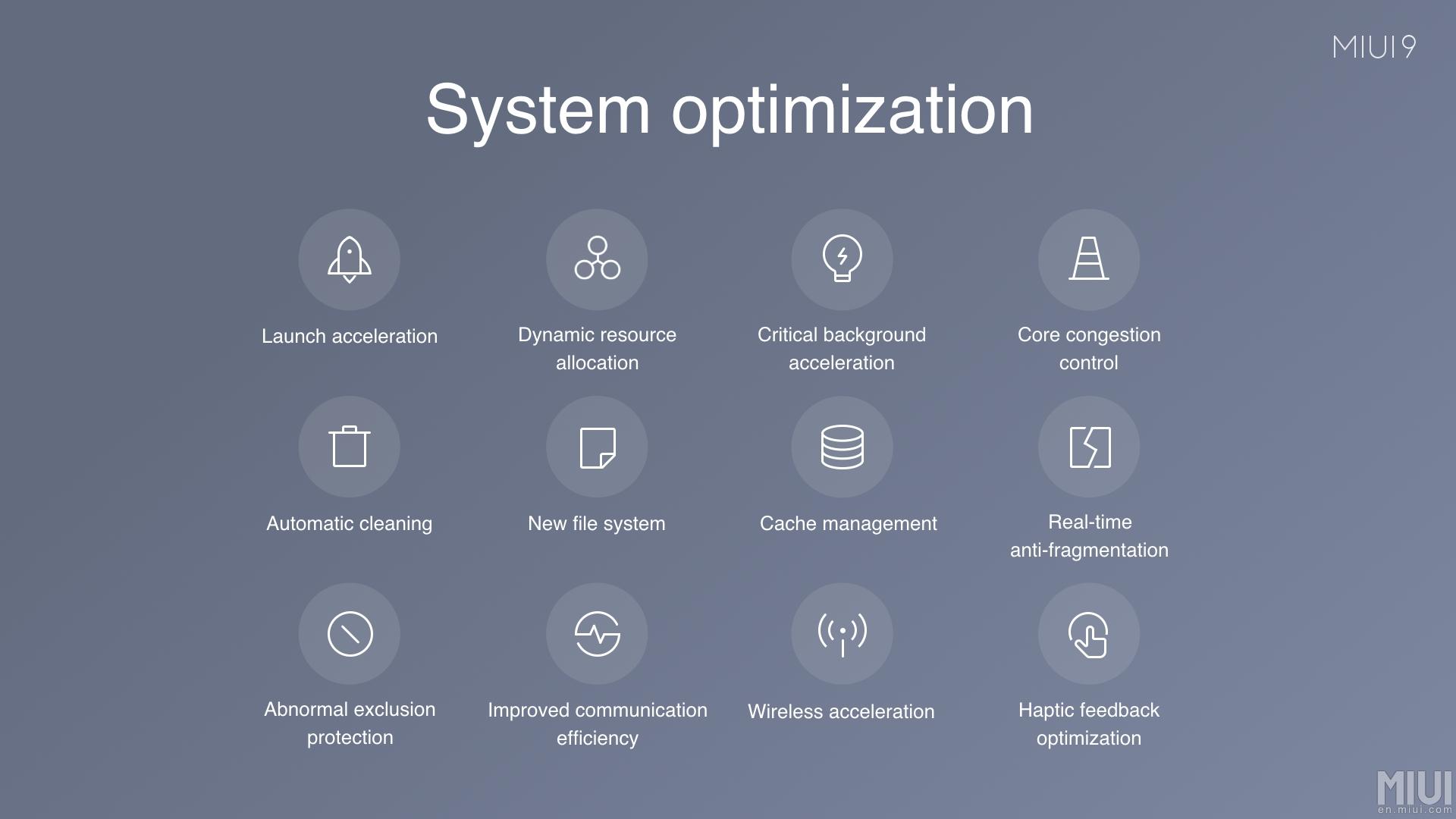 miui 9 optimizaciones
