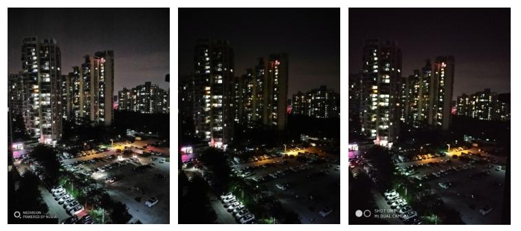 Muestra 2 Nubia Z17 vs Huawei P10 vs Xiaomi Mi 6