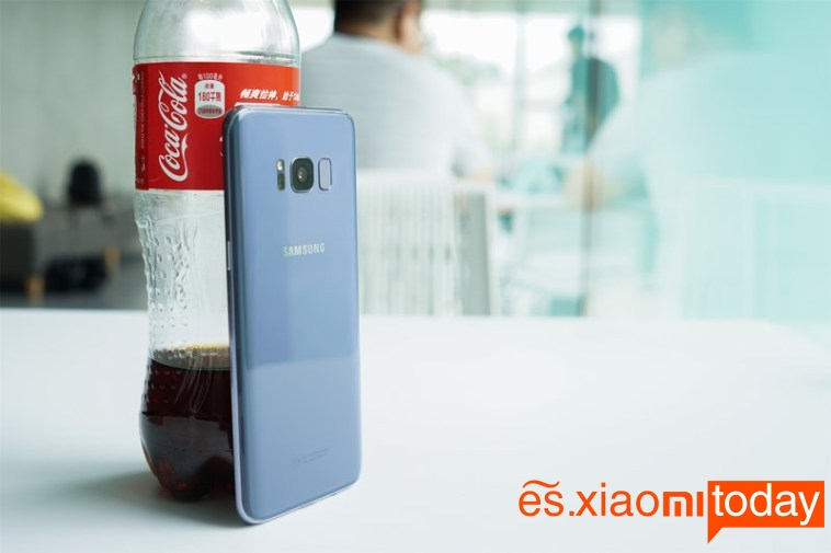 OnePlus 5 vs Samsung Galaxy S8 S8 Cámara 1