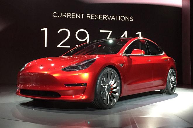 Tesla 3 reservas