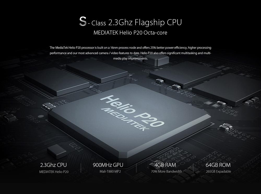 Umidigi S hardware