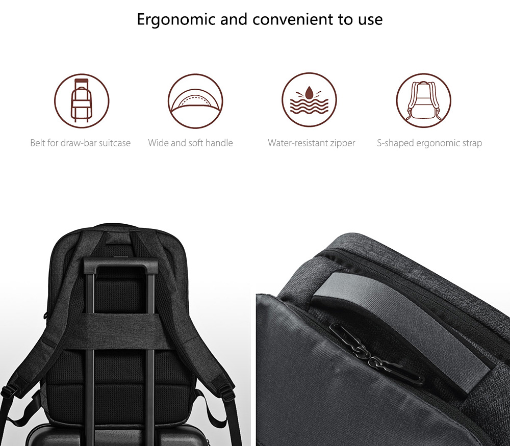 Xiaomi 26L Travel Business Backpack agarraderas