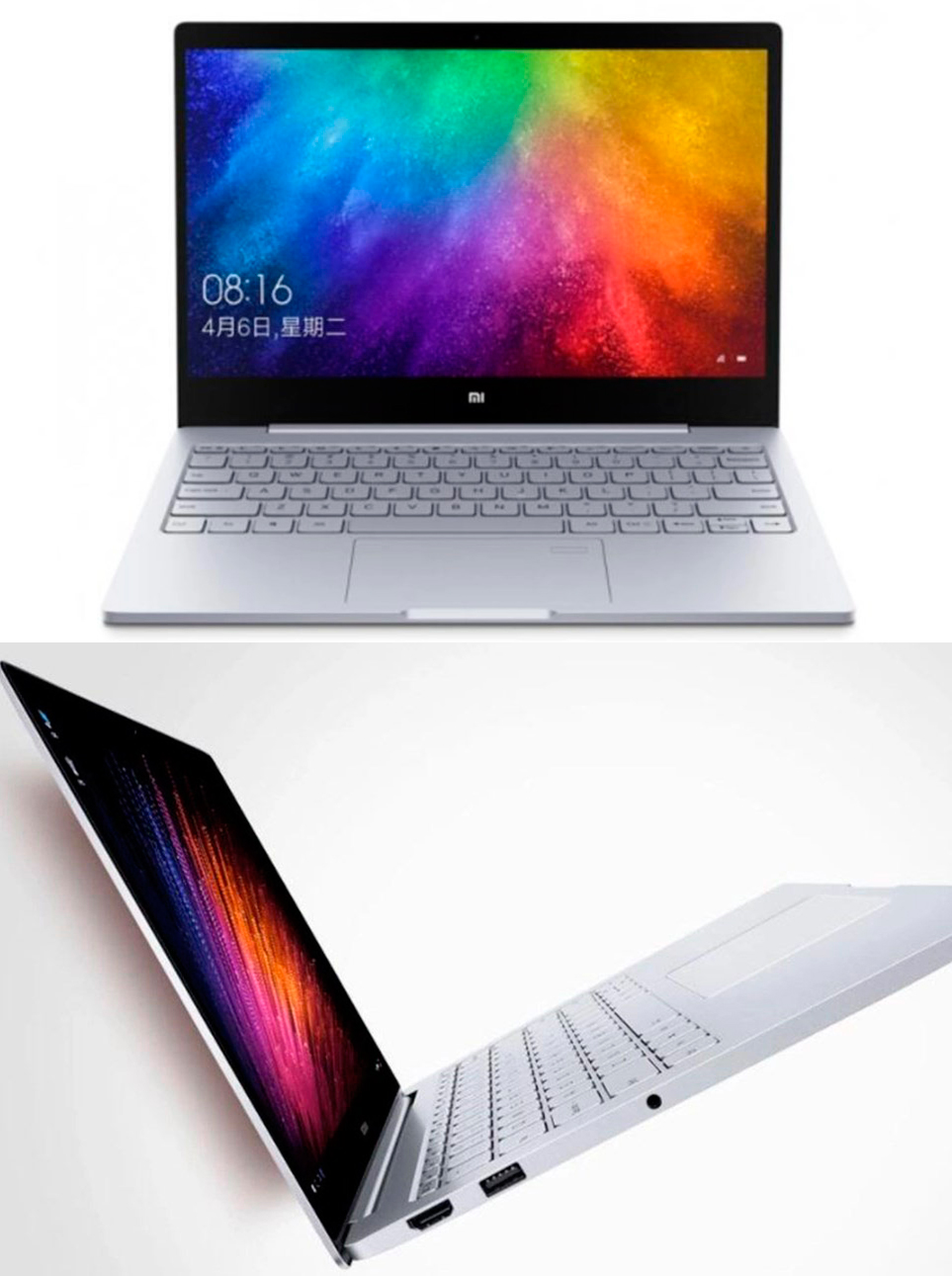 Xiaomi Air Notebook diseño