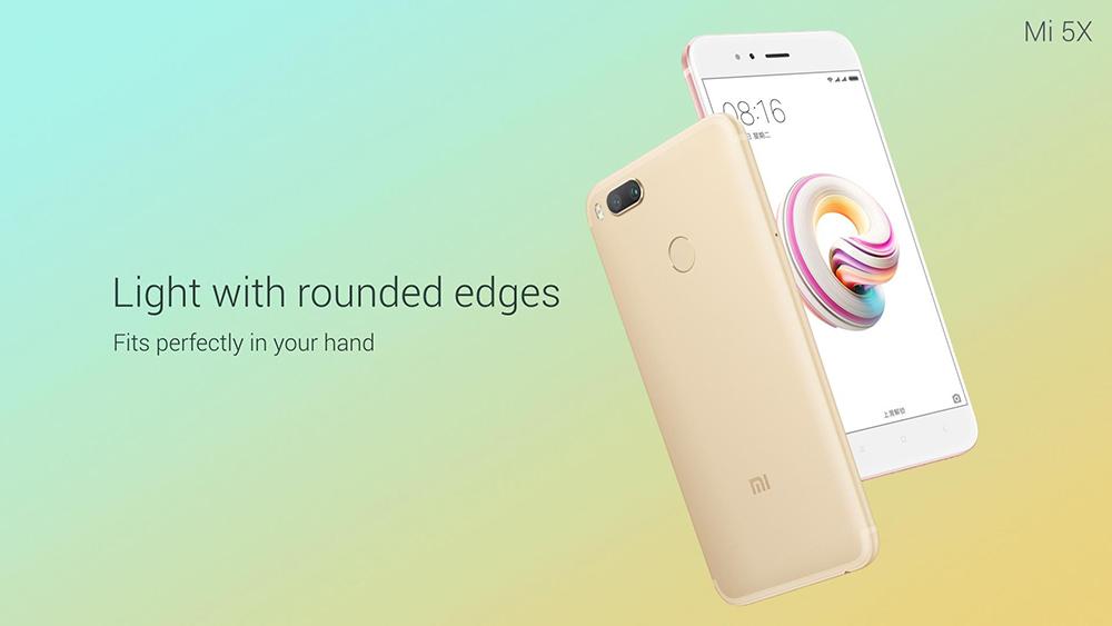Xiaomi Mi 5X apariencia