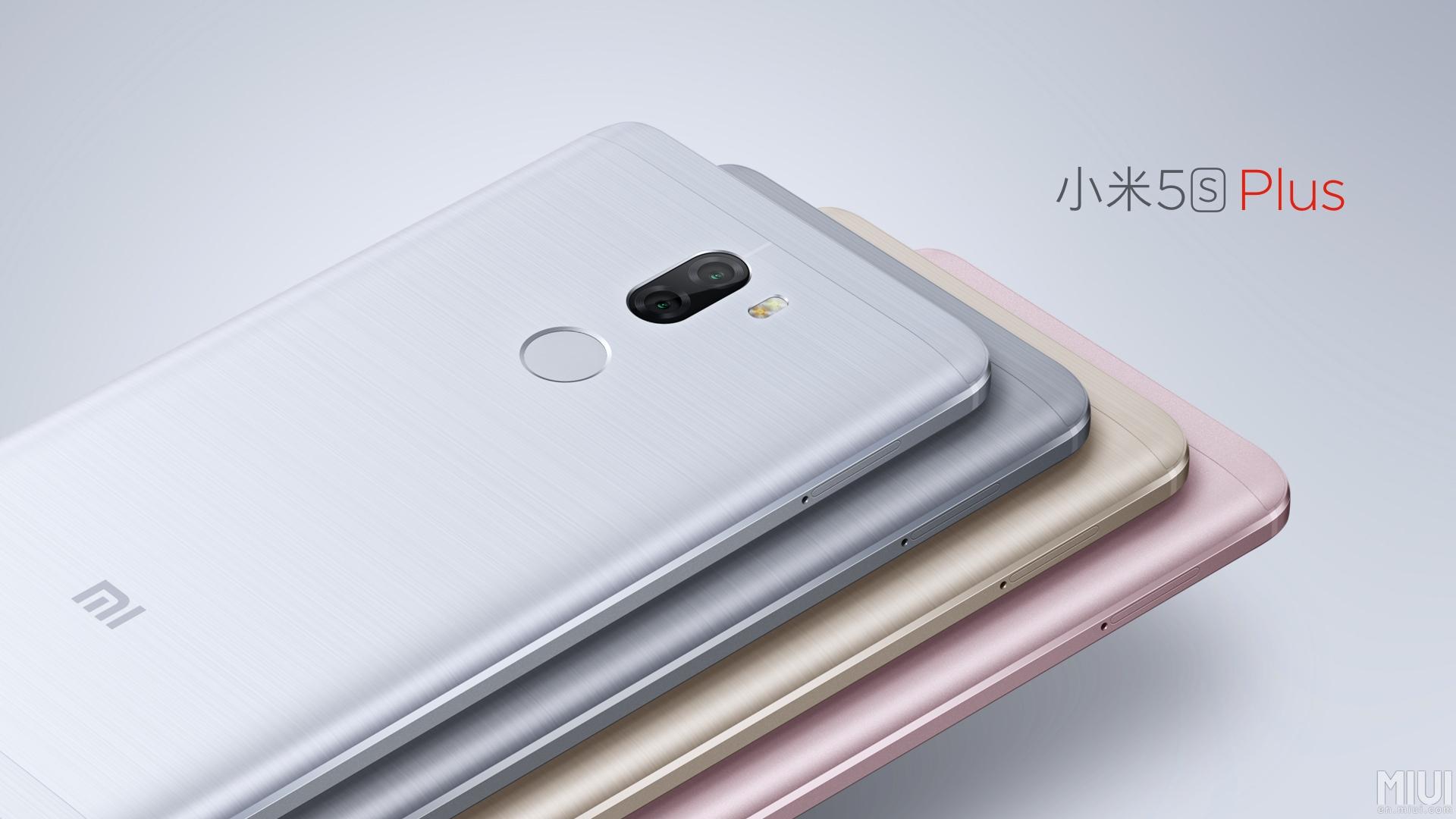 Xiaomi Mi 5s Plus Android 7.0 Nougat