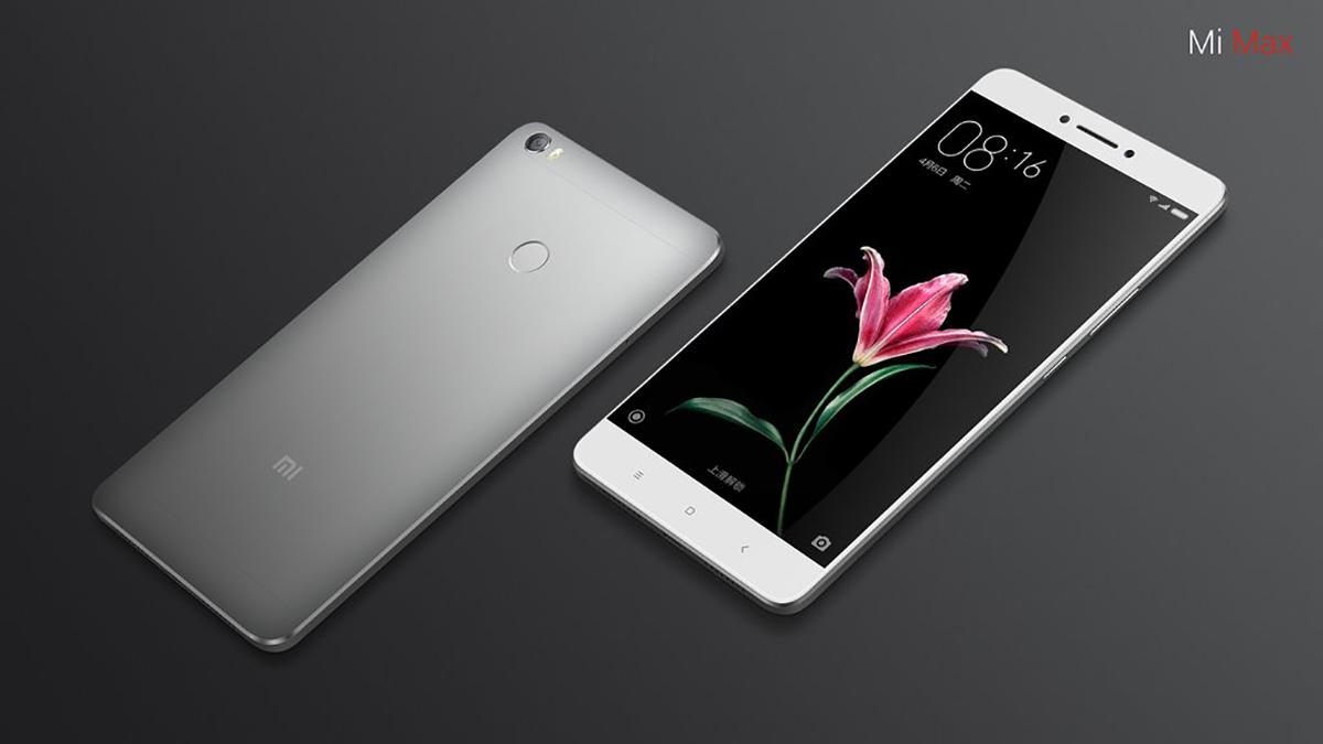 Xiaomi Mi Max Android 7.0 Nougat