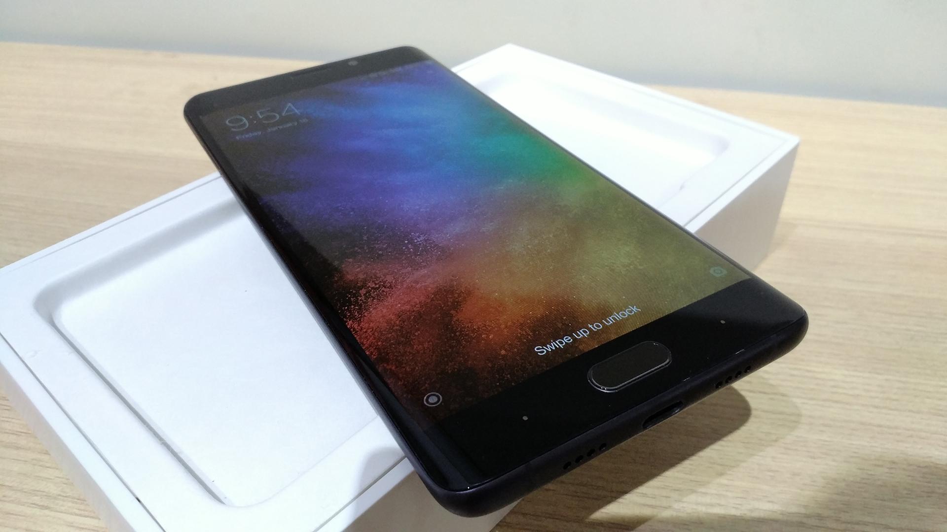Xiaomi Mi Note 2 - Segundo lote de actualización a MIUI 9