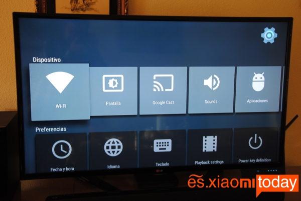 Xiaomi Mi 3S Smart TV Box Conexión