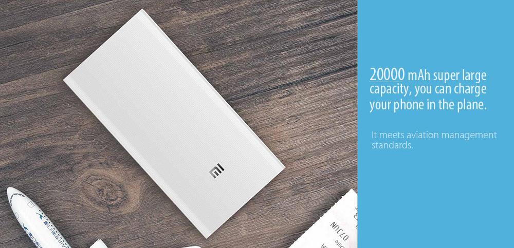 Xiaomi Power Bank 2 design