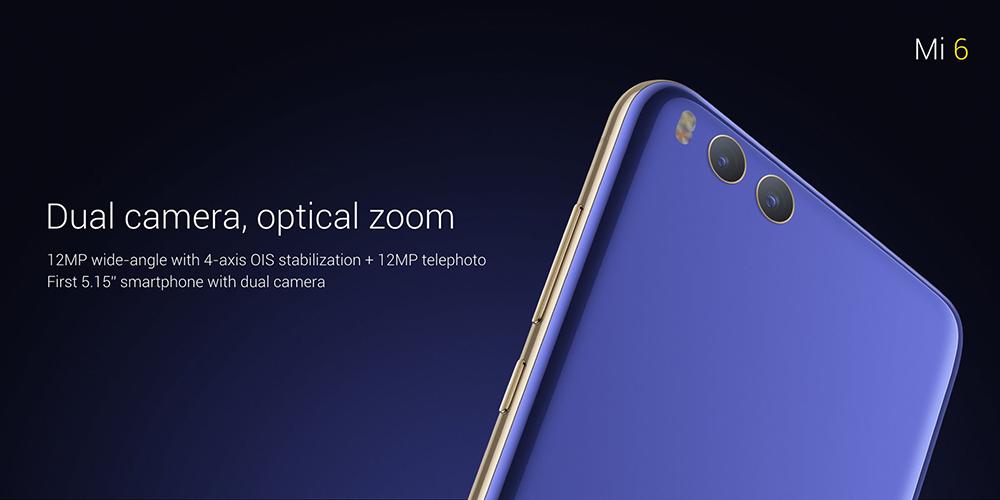 Xiaomi Mi 6 cámara