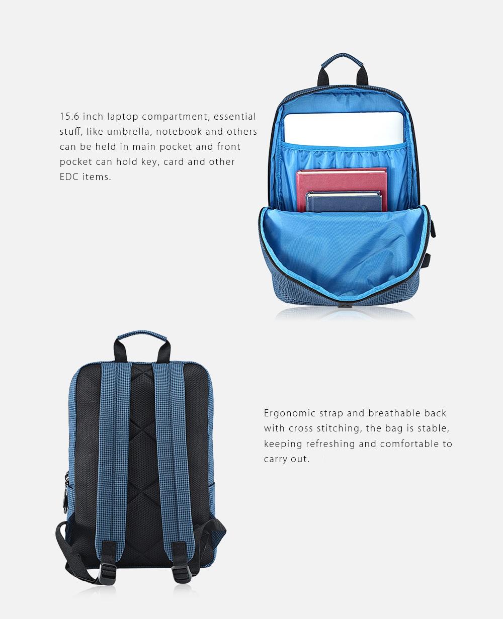 Xiaomi 20L Leisure Backpack bolsillo principal