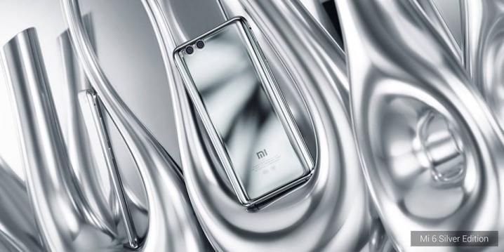 Xiaomi Mi 6 Mercury edición plateada características