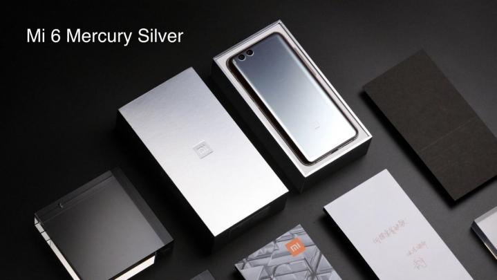 Xiaomi Mi 6 Mercury edición plateada introducción