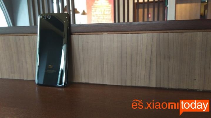 Xiaomi Mi 6 edición de cerámica parte posterior