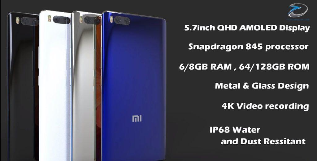 Xiaomi Mi 7 características