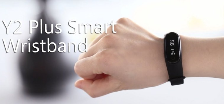 Y2 Plus Smart Wristband intro