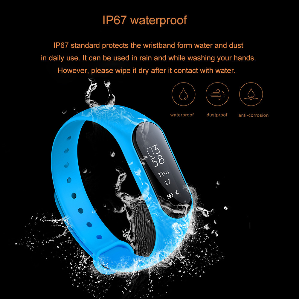 Y2 Plus Wristband IP67