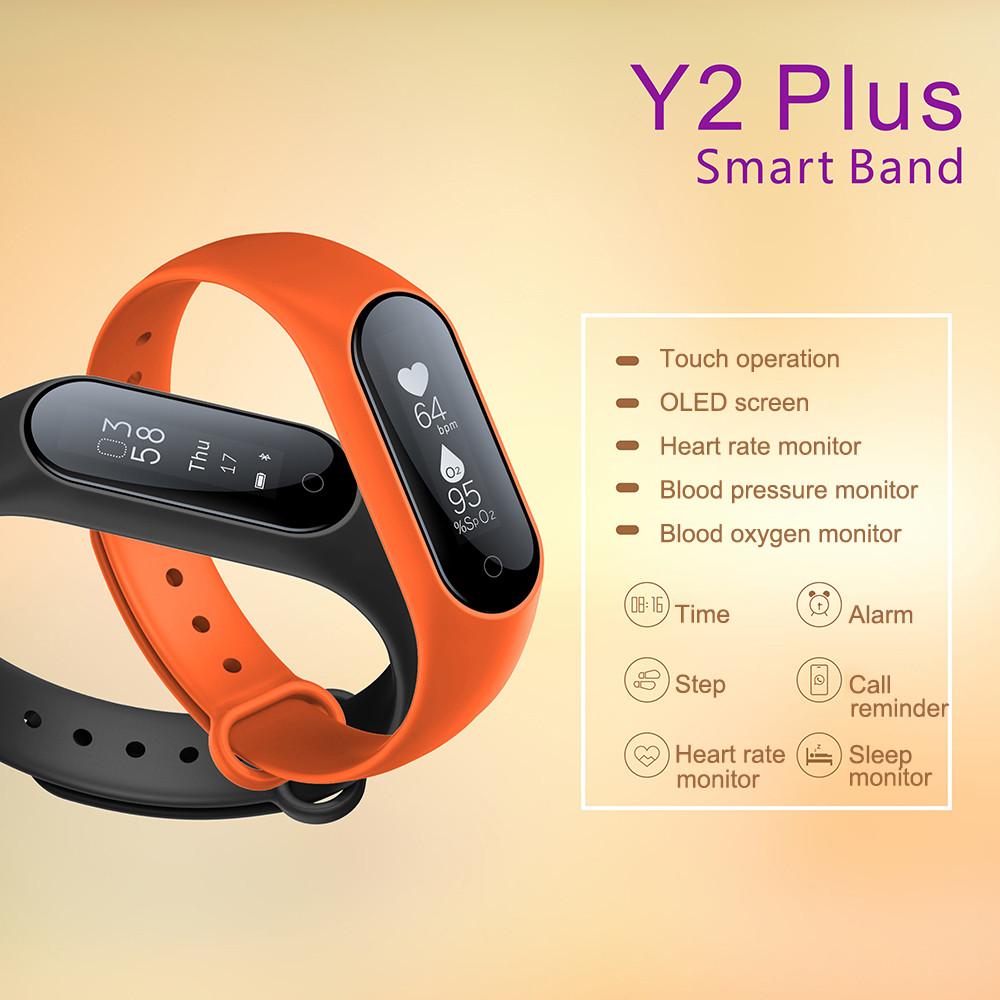 Y2 Plus Wristband diseño