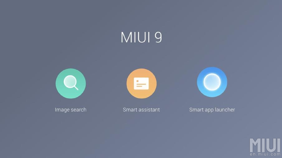 Las 3 características fundamentales de MIUI 9