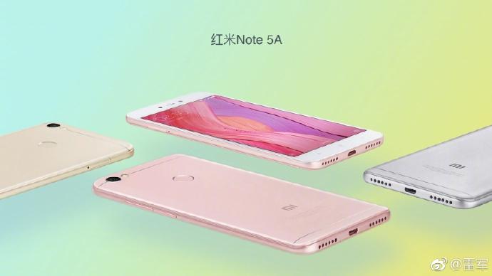 Redmi Note 5A lanzamiento