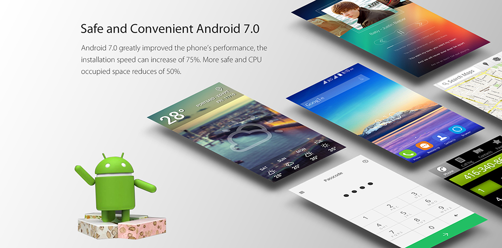 Blackview A7 Android 7.0 Nougat