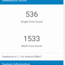 Cubot Magic geekbench