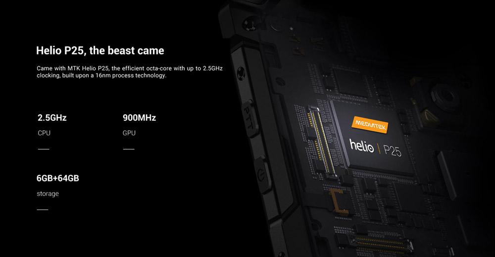 Doogee S60 hardware