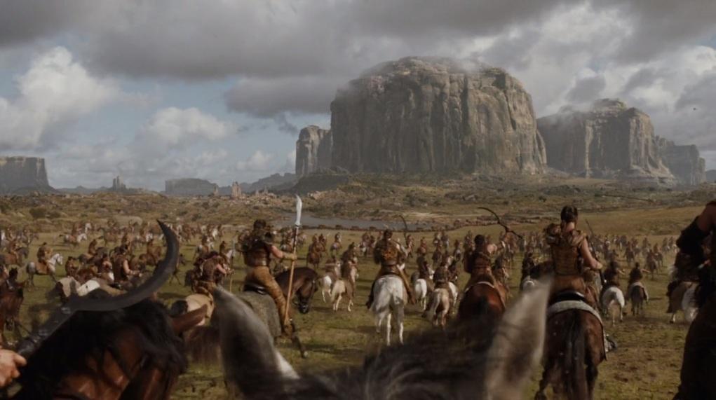 GoT Dothraki vs jaime lannister