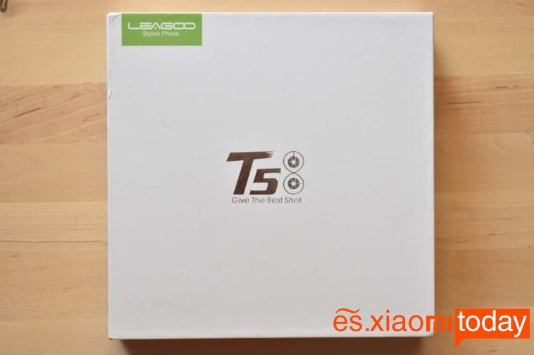 Leagoo T5 paquete