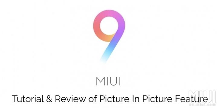 MIUI 9 Picture in picture