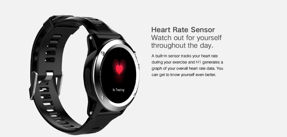 Microwear H1 Monitor frecuencia cardíaca