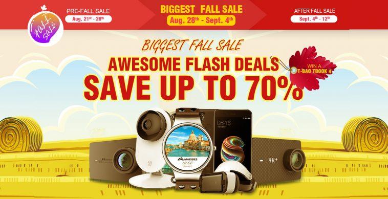 Ofertas de otoño de Geekbuying en productos Xiaomi