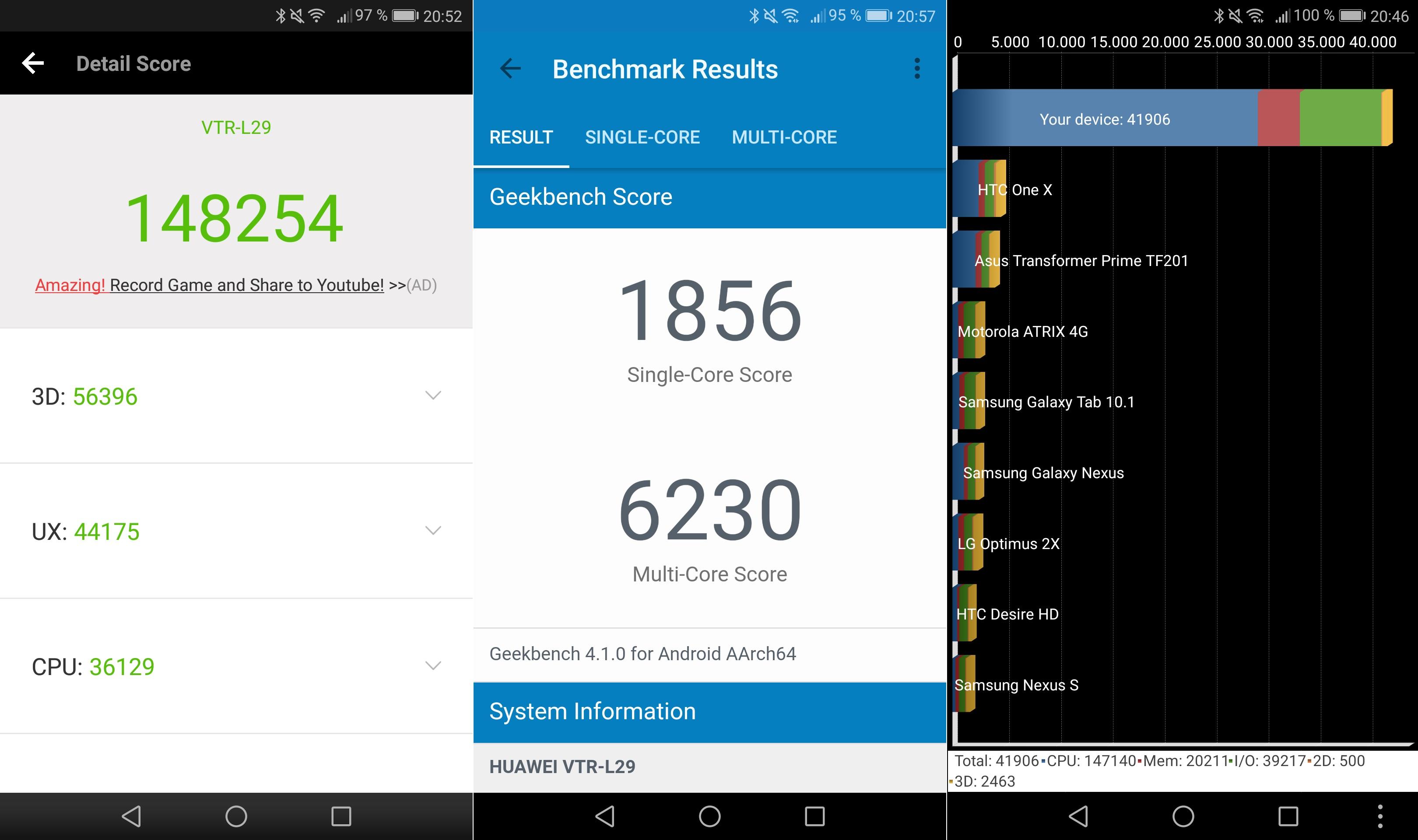 Snapdragon 660 vs Kirin 960 (Huawei P10 Kirin)