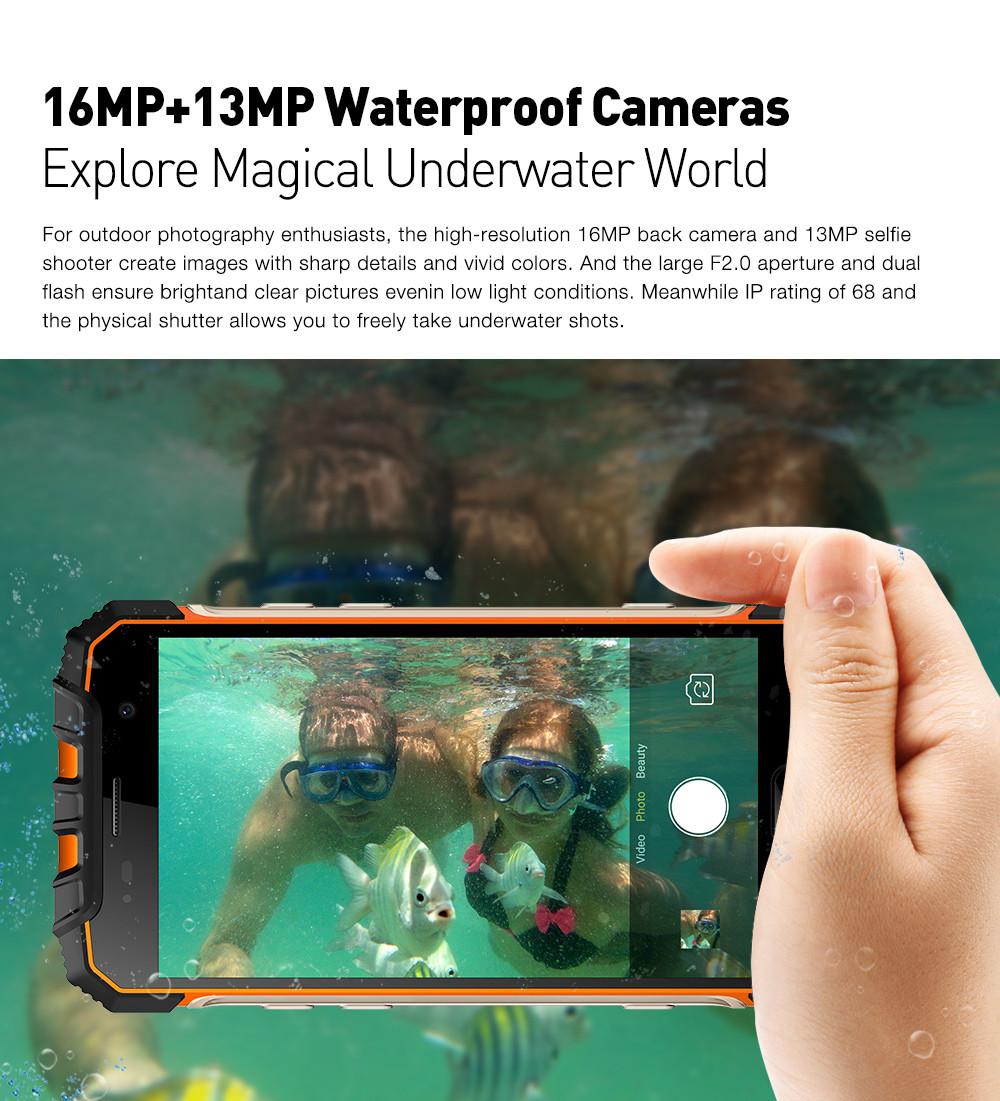 Ulefone Armor 2 cámara