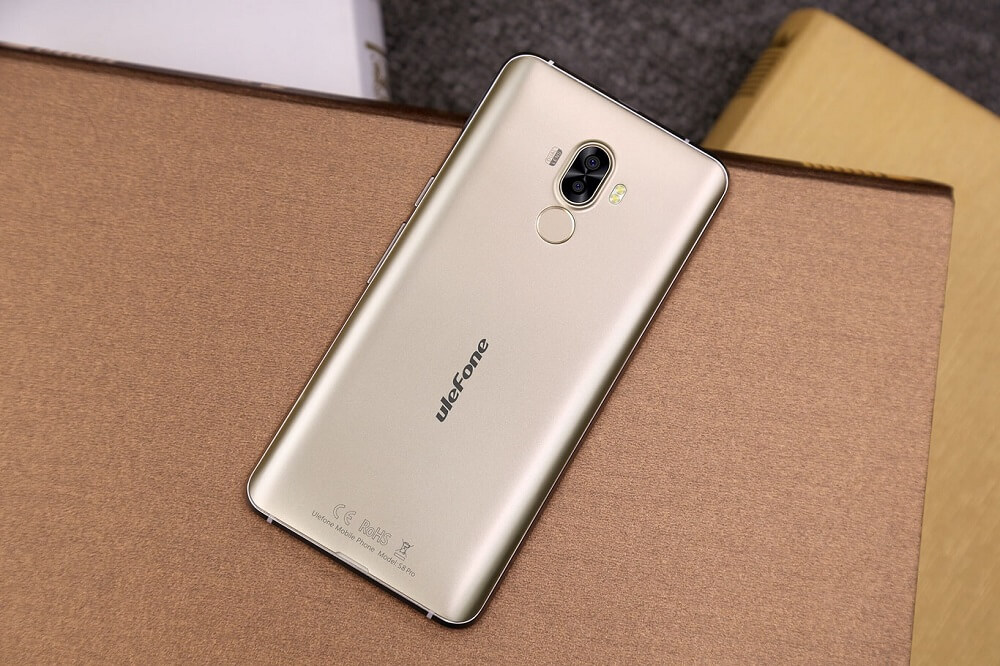 Ulefone S8 Pro diseño