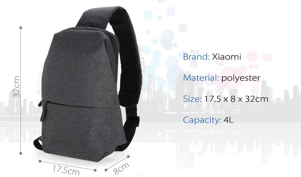 Xiaomi Leisure Sling bag características