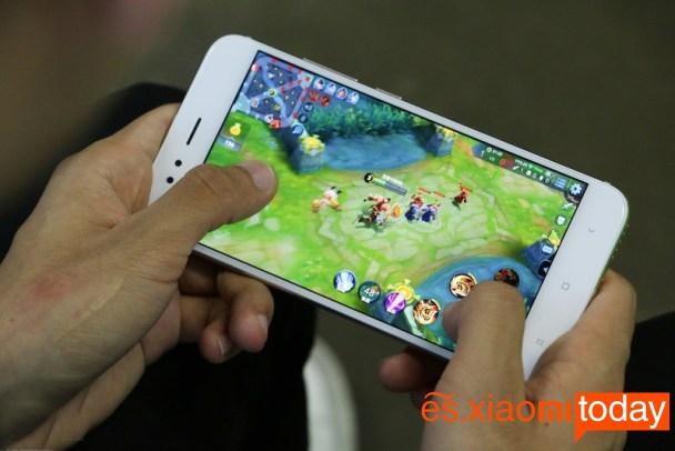 Xiaomi Mi 5X juegos
